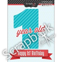 1ST BIRTHDAY STICKER
