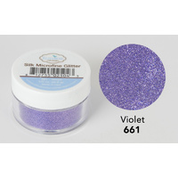 Elizabeth Craft Designs Silk Microfine Glitter 8gm Violet