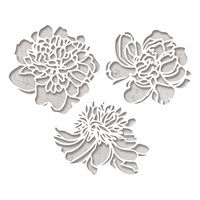 Sizzix Thinlits Die Cutout Blossoms