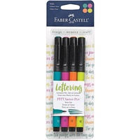Faber Castell Pitt Artists Brush Pen Set Bright