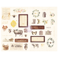 Prima Spring Farmhouse Chipboard