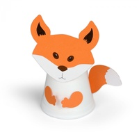 Sizzix Bigz Die Cup Critters Fox