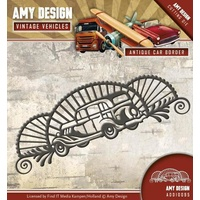 Find It Trading Die Vintage Vehicles Border by Amy Design