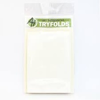 Art Impressions Tryfolds Card & Envelope Pack Cream