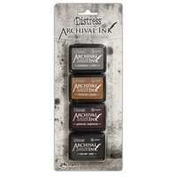 Ranger Distress Mini Archival Ink Pads Kit #3