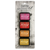 Ranger Distress Mini Archival Ink Pads Kit #1