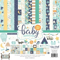 "Echo Park Hello Baby Boy 12"" Collection Kit"