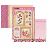 Hunkydory Birth Flowers Card Topper Set April Sweet Pea
