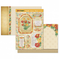 Hunkydory Birth Flowers Card Topper Set October Marigold