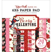 "Echo Park Be My Valentine 6"" Paper Pad"