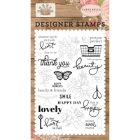 Carta Bella Farmhouse Market Stamp Happy Moments