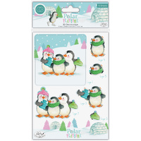 Craft Consortium Polar Playtime 3D Decoupage and Topper Sheet Set