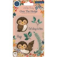 Craft Consortium Over the Hedge Stamp Olivia the Owl