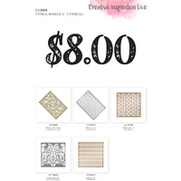 Couture Creations Stencil Bundle #4
