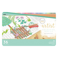 Kaisercolour Artist Coloured Pencils 36pc in Tin