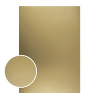Couture Creations Mirror Foil Board A4 Matte Gold 10pk