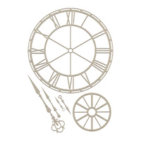 Couture Creations Chipboard Clockface Set 6pc