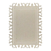 "Couture Creations Chipboard Viney Frame Set (Suits 3x2"" Photo) 3pc"