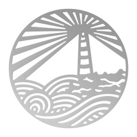 Couture Creations Seaside & Me Decorative Die Lighthouse Medallion
