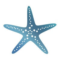Couture Creations Seaside & Me Hotfoil Stamp Starfish