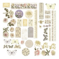 Couture Creations Butterfly Garden Diecut Ephemera Set