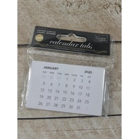 Couture Creations Calendar Tabs 2020
