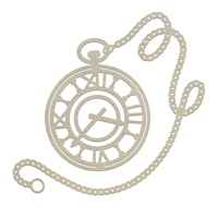 Couture Creations Gentlemans Emporium Chipboard Pocket Watch