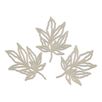 Couture Creations Peaceful Peonies Chipboard Leafy Branches