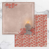 Couture Creations Lest We Forget Patterned Paper #1