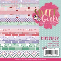 "Find It Trading Sweet Girls 6x6"" Paper Pack 23pg"