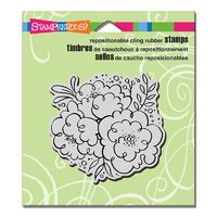 Stampendous Cling Stamp Blossom Trio