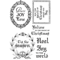 "Kaisercraft Letters to Santa 4x6"" Clear Stamp"