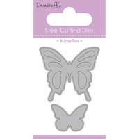 Dovecraft Value Die Butteflies 2pc