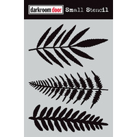 Darkroom Door Small Stencil Ferns