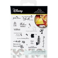 Disney Beauty & The Beast Stamp Set Belle