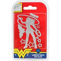 DC Comics Wonder Woman Die & Stamp Set Lasso of Truth