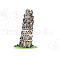 Stamping Bella Cling Stamp Rosie & Bernie's Tower of Pisa