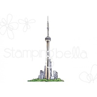 Stamping Bella Cling Stamp Rosie & Bernie's CN Tower