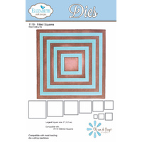 Elizabeth Craft Designs Die Fitted Squares (9 Piece) by Els van de Burgt