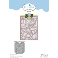 Elizabeth Craft Designs Die Leaf Pocket by ModaScrap