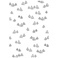 Kaisercraft Embossing Folder Mountains