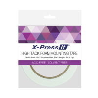 X-Press It Foam Mounting Tape High Tack 6mm x 2m