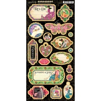 Graphic 45 Fashion Forward Chipboard Die Cuts