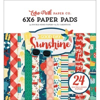 "Echo Park Good Day Sunshine 6x6"" Paper Pad 24pg"