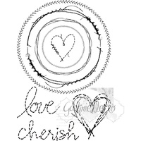 49 and Market Clear Stamp Gabi's Circle Stitch