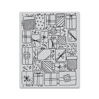 Hero Arts Background Cling Stamp Presents