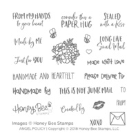 Honey Bee Stamp Angel Policy