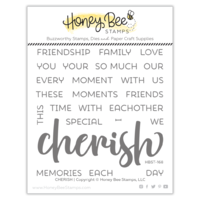 Honey Bee Stamp Cherish