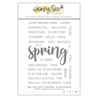 Honey Bee Stamp Spring