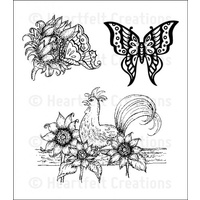 Heartfelt Creations Stamp Set Summers Day